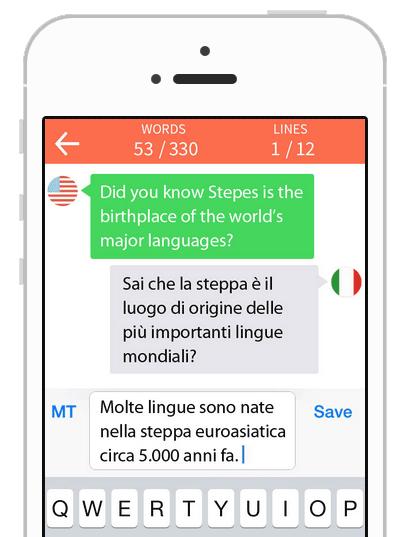 Stepes Chat Translation