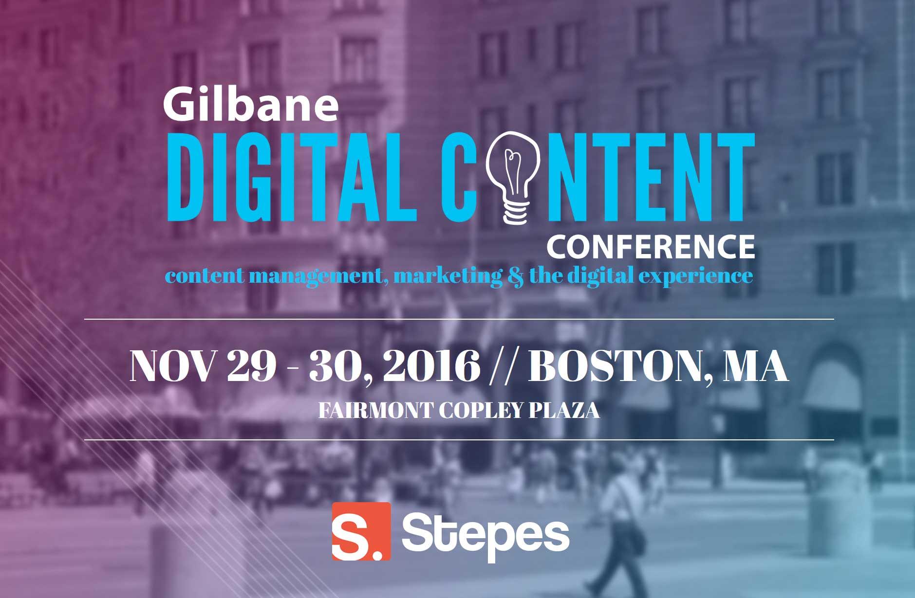 Stepes at Gilbane Conference