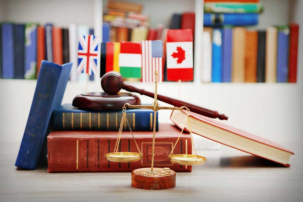 Multilingual courtroom interpretation in the U.S. is mandated by law.