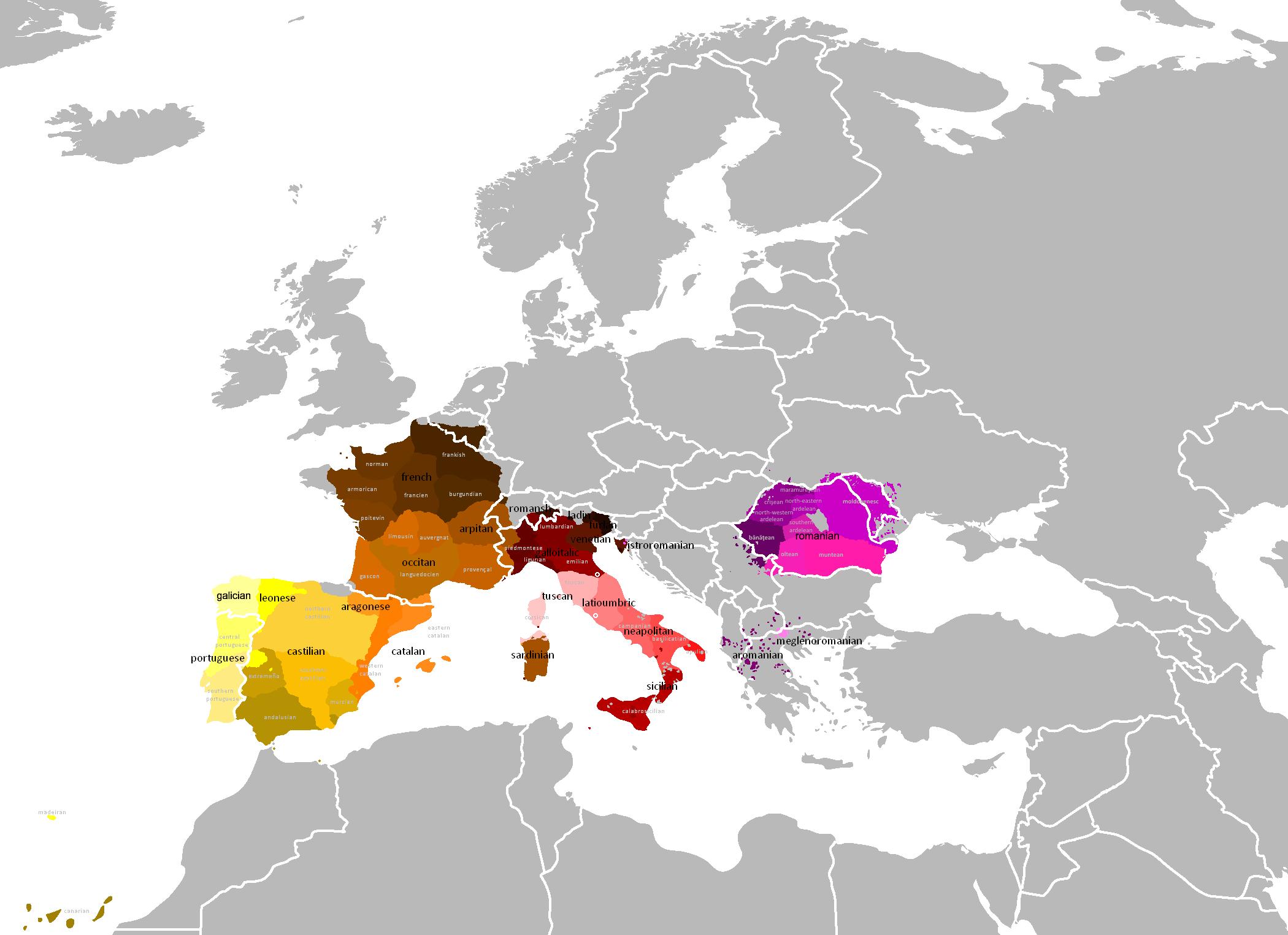 romance-languages