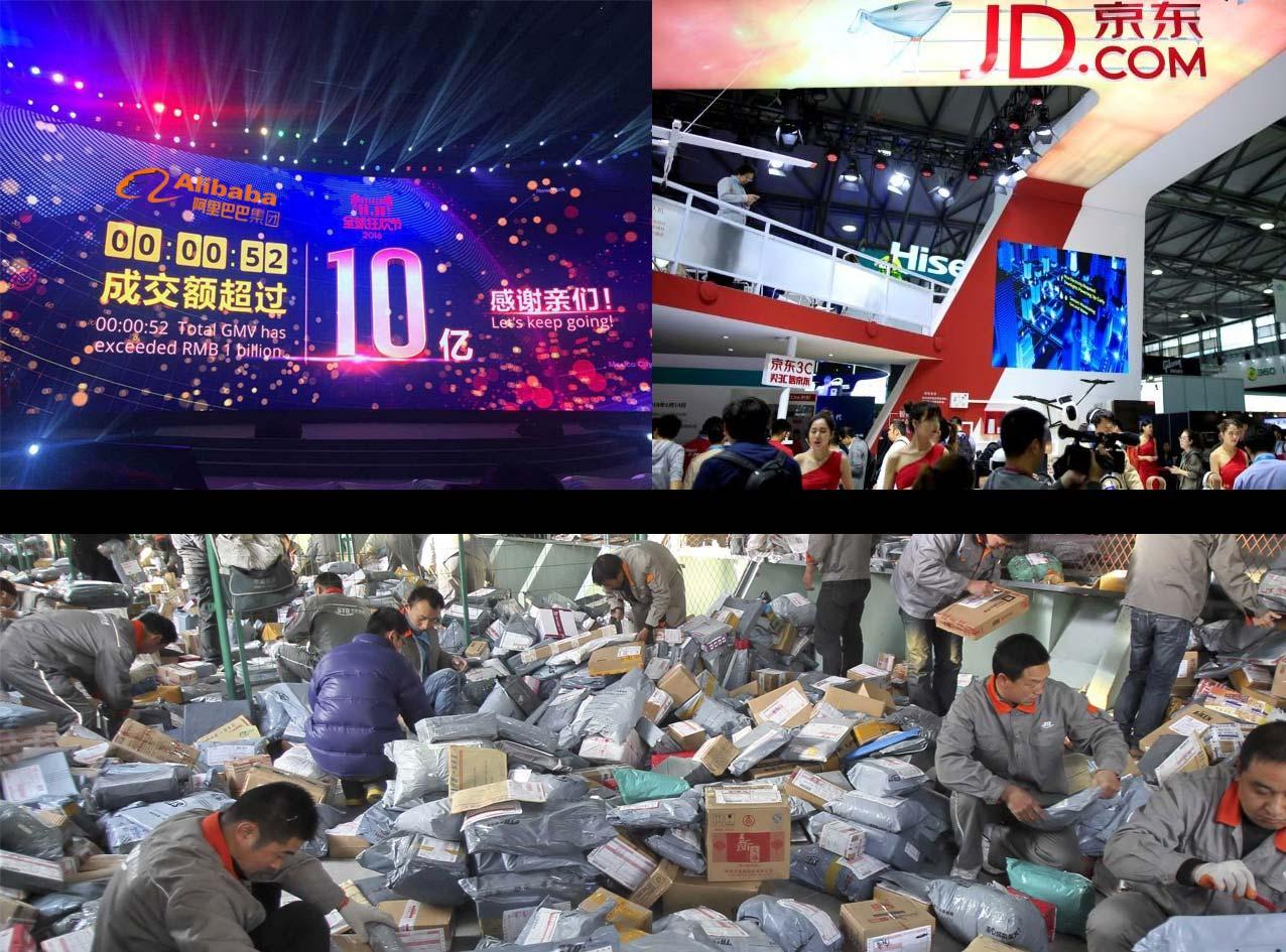 China Singles Day Shopping