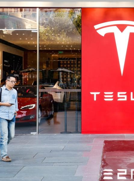 Electric Car Dealership in Beijing